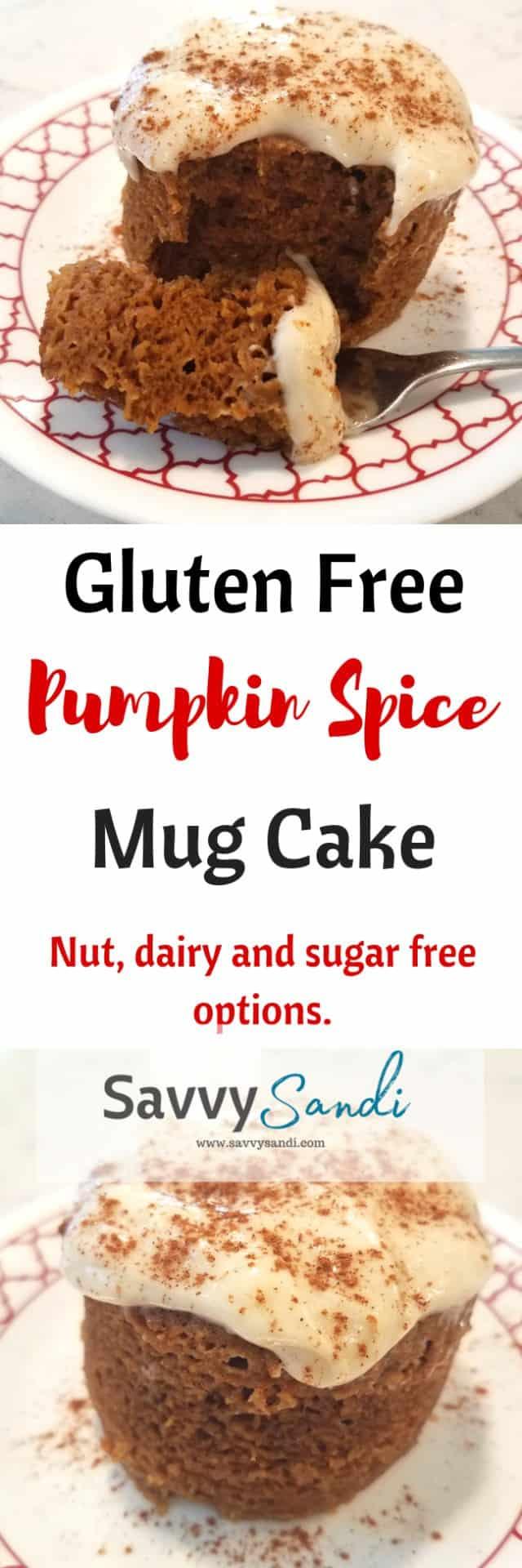 Gluten Free Nut Free Pumpkin Spice Mug