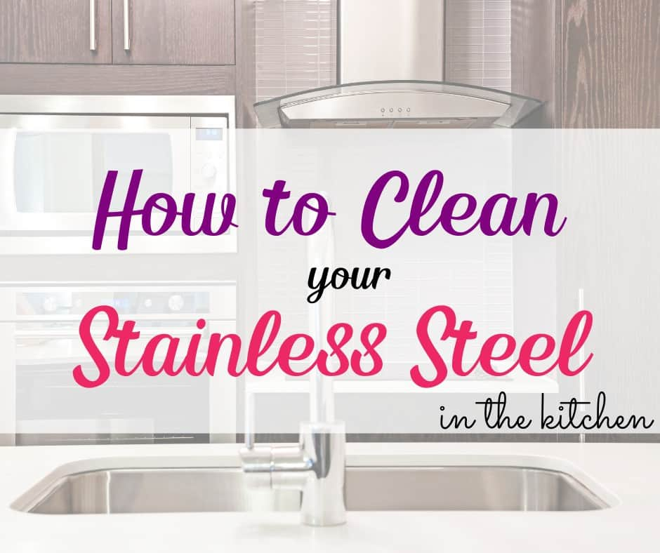 how to clean and organize in the kitchen